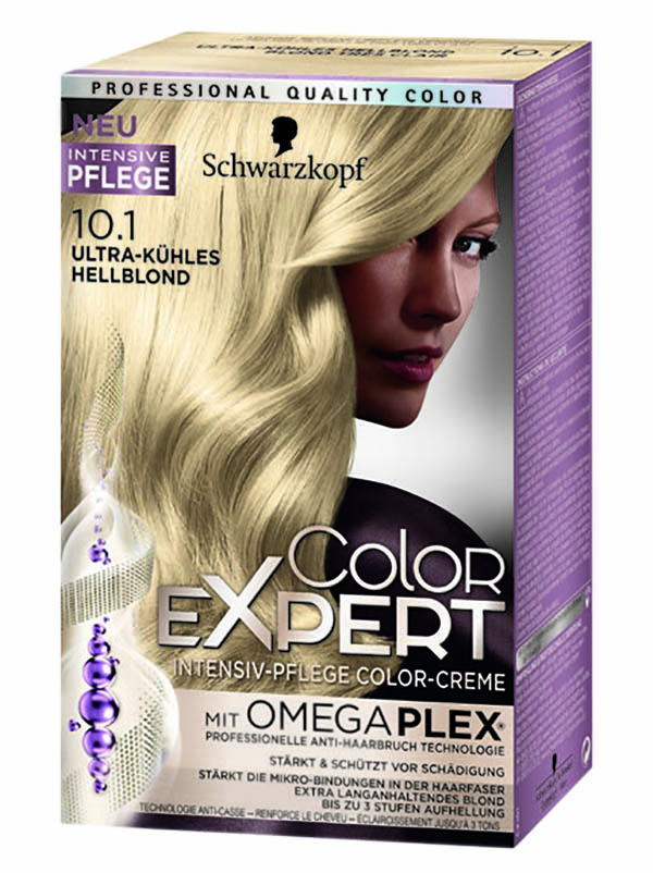 ColorExpert hair colour with hair care with Schwarzkopf.