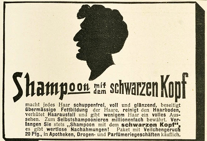 The first Schwarzkopf shampoo.